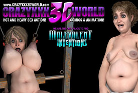 Crazy XXX 3D World - Hot and Heavy Sex Action